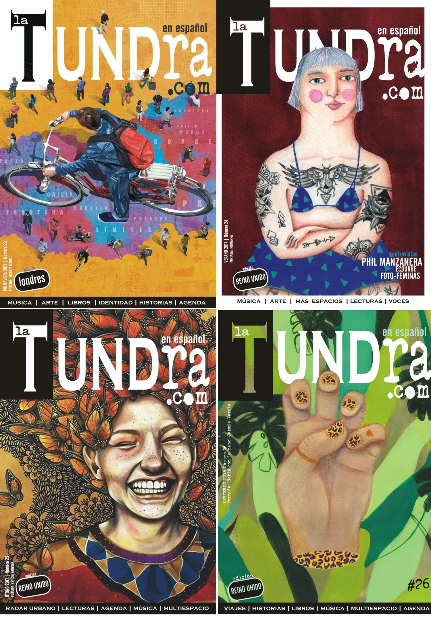 La Tundra Magazine - Subscription Free P&P ONLY UK Subscription1YEAR