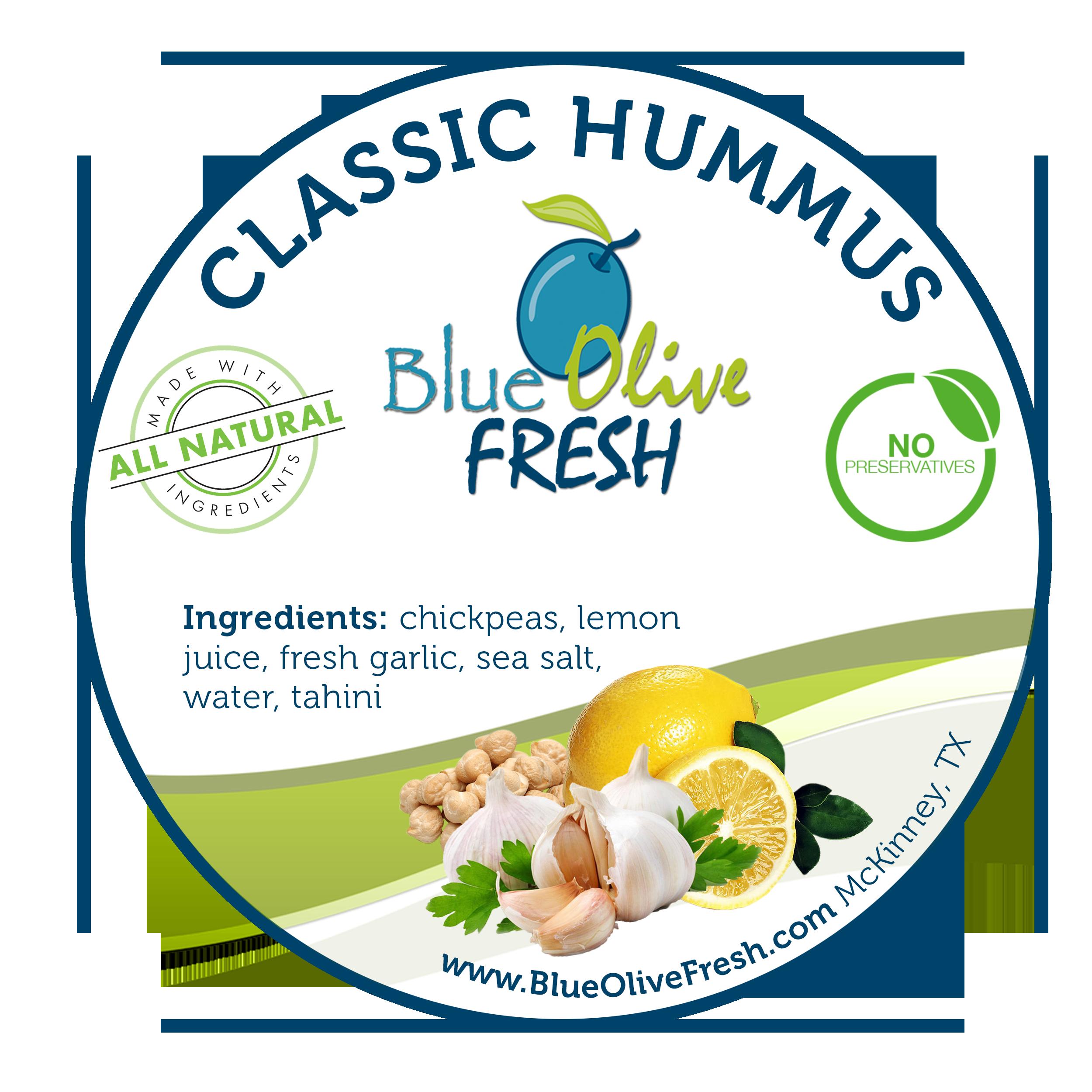 Classic Hummus - 8 oz 00003