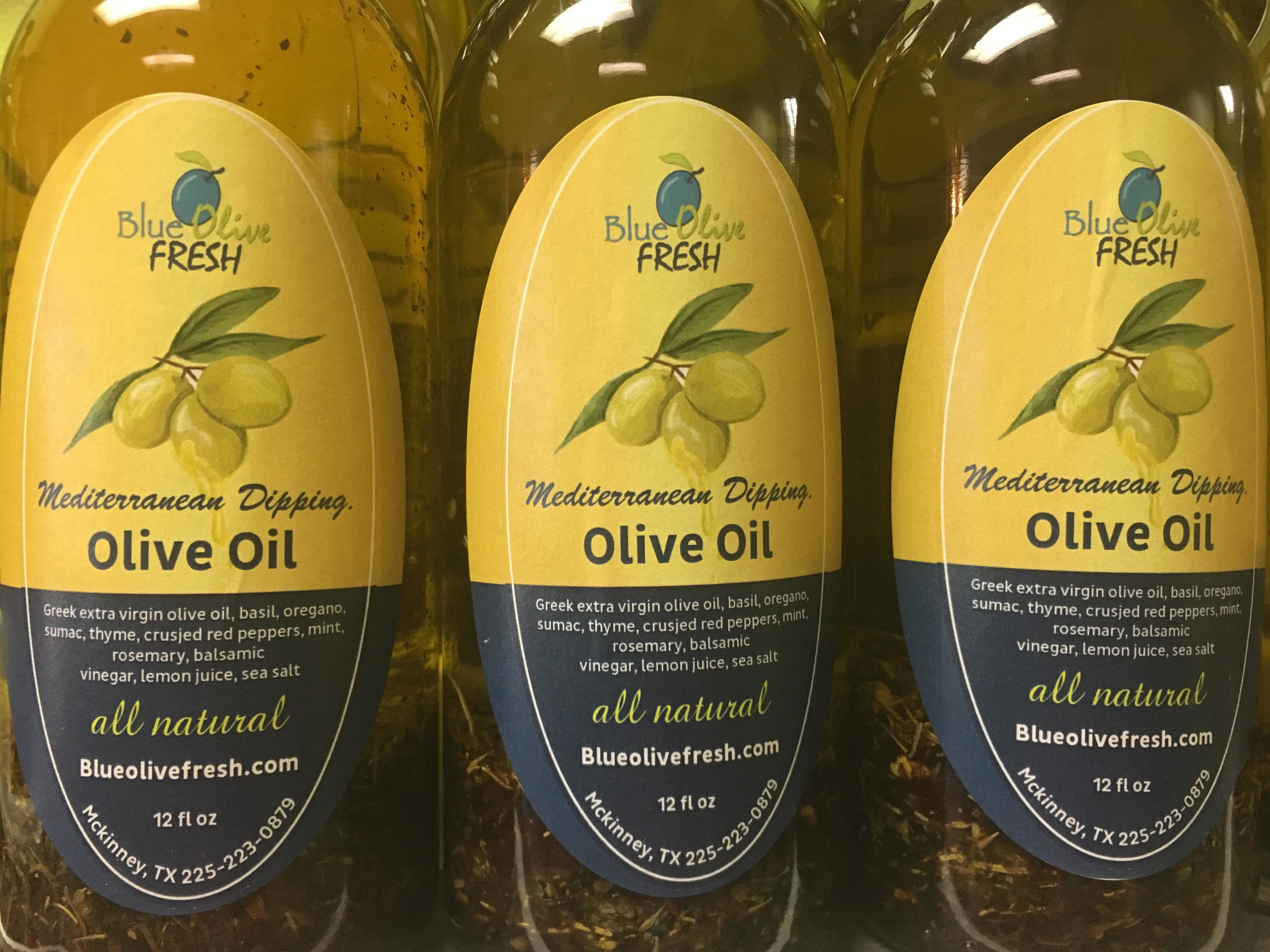 Mediterranean Dipping Olive Oil 00011
