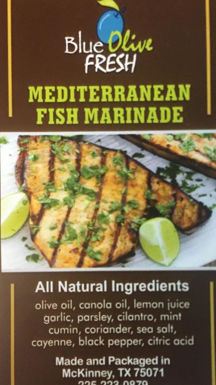 Mediterranean Fish Marinade 00019