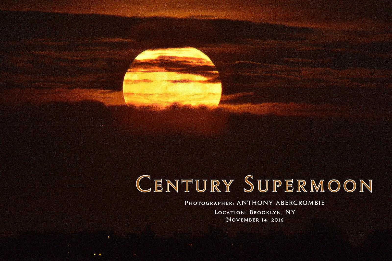 Century Supermoon Poster 18x24 00000