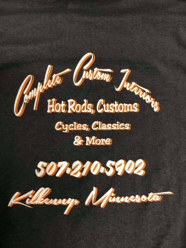 Custom Hot Rod Interiors Tee Shirt