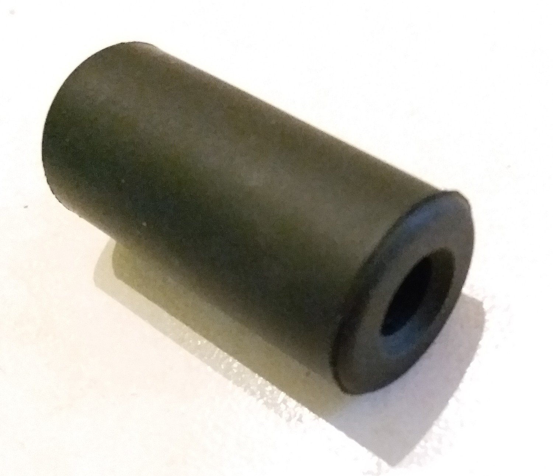 Joints en caoutchouc noirs avant