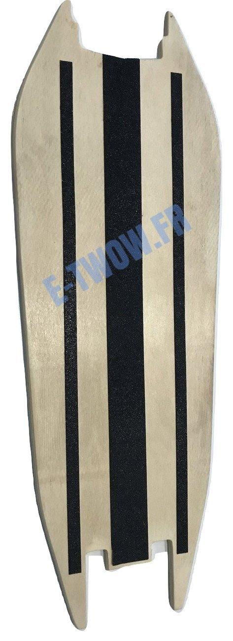 Deck - Planche en bois + grip de deck