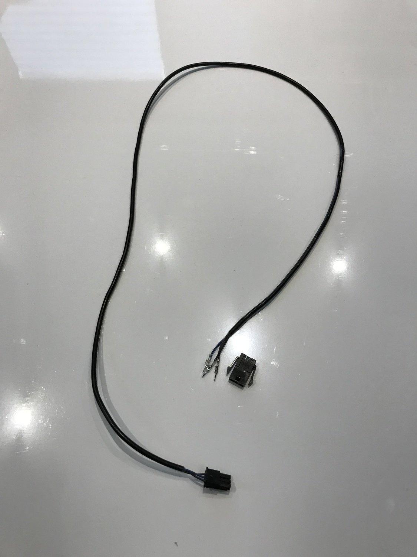Câble du controleur à la led du garde boue