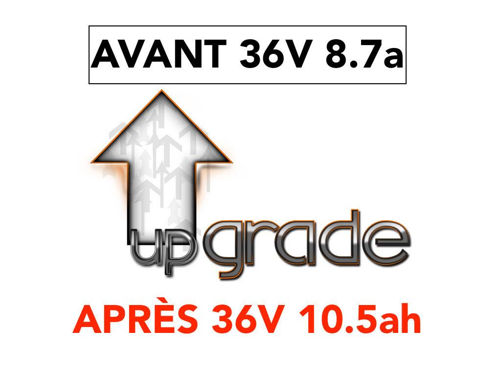 UPGRADE BATTERIE 36V 10.5 Ah