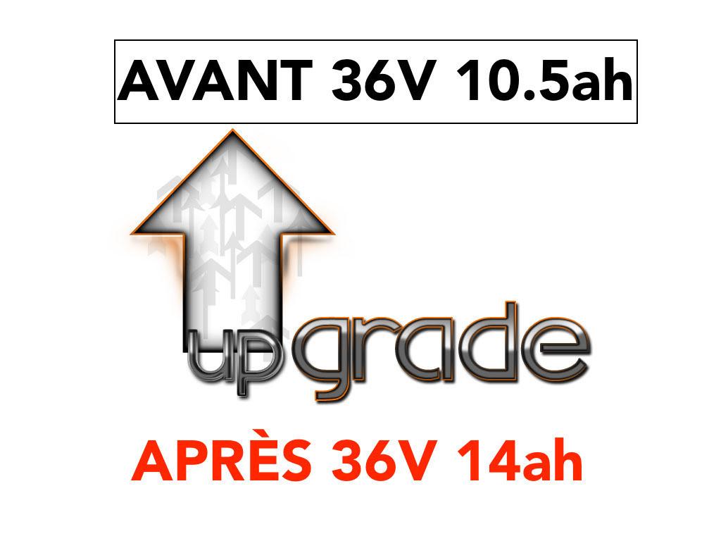 UPGRADE BATTERIE 36V 14ah