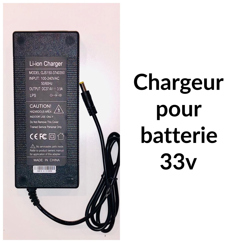 Chargeur 33V 3.5Ah pour Booster PLUS et Super Booster PLUS  - 8mm