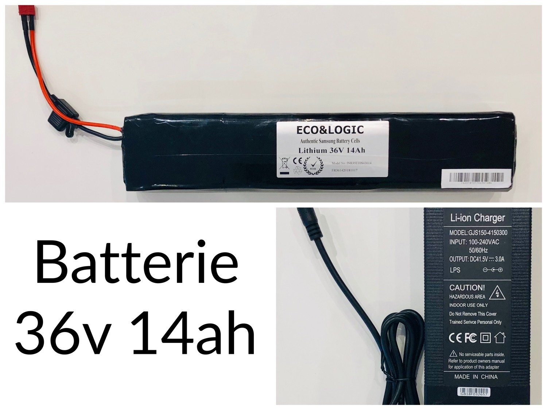 Batterie 36V 14Ah