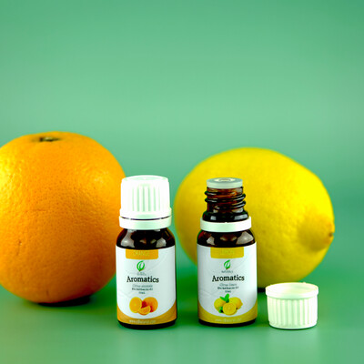 Orange & Lemon Essential Oil Bundle