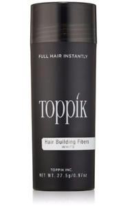 White Toppik Hair Fibers 27.5g Size