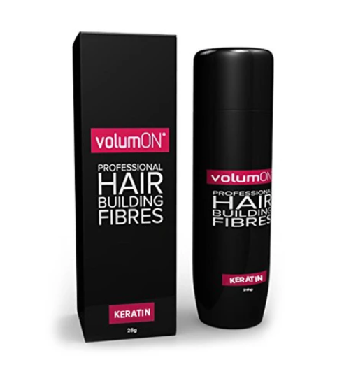 Volumon Keratin Hair Fibres Grey