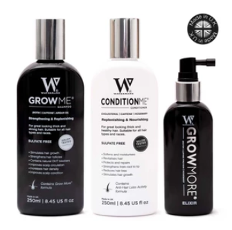 SHAMPOO AND CONDITIONER SET WITH ELIXIR BOOSTING LEAVE-IN SCALP FORMULA