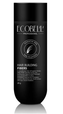 Ecobell 99% Keratin Hair Building Fibers Jar 28g