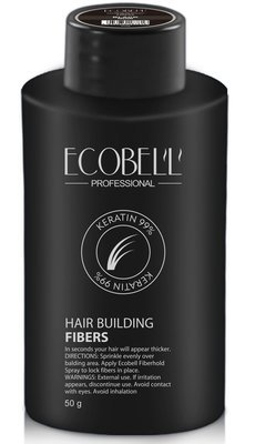 Ecobell 99% Keratin Hair Building Fibers 50G