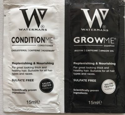 Watermans Grow me & Condition me Sample