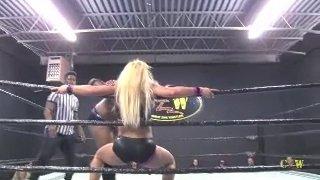 Maria Manic vs Frankie Pickard (Girl vs Boy Pro Wrestling)