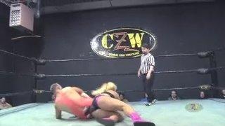 Maria Manic vs Mike Del (Intergender Professional Wrestling)