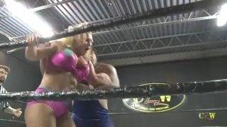Maria Manic vs Stefan Pennington (Match 2) Intergender Pro Wrestling