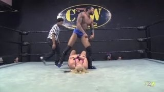 Maria Manic vs Tahir James (Match 2) (Intergender Wrestling)