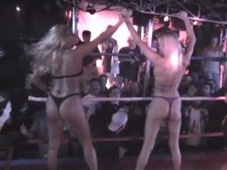 Hot Chick Beatdowns (Fulll Show) Women's Wrestling + Oil Wrestling