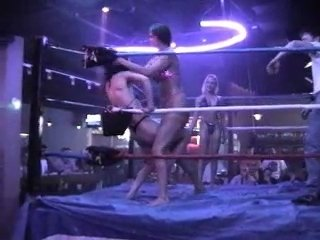 VOD - 3 Way Oil Wrestling Amber (GI Ho) vs G-Note vs Nikki Cox