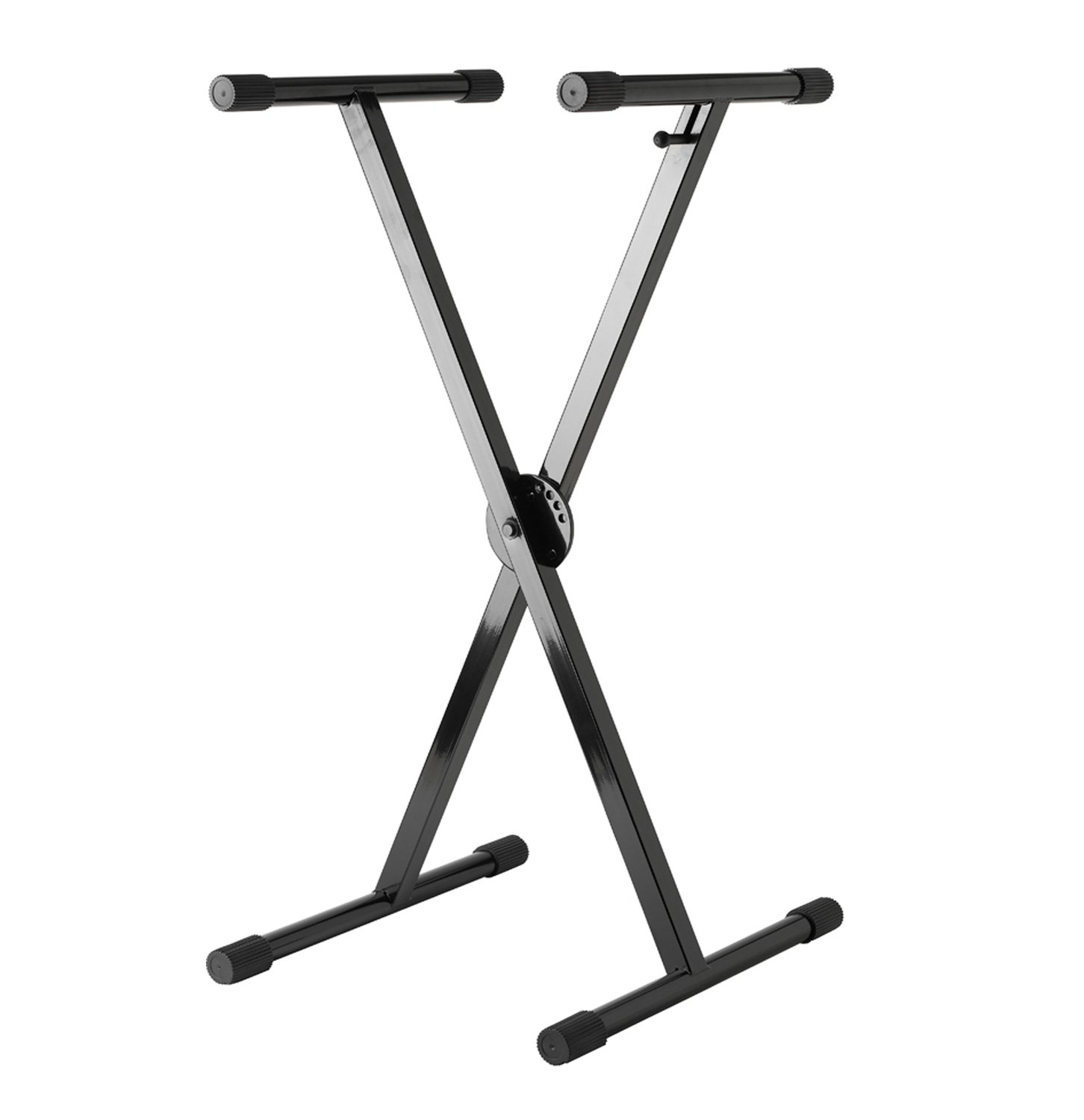 Trade Stands Olympia : Strukture single brace keyboard stand with trigger black