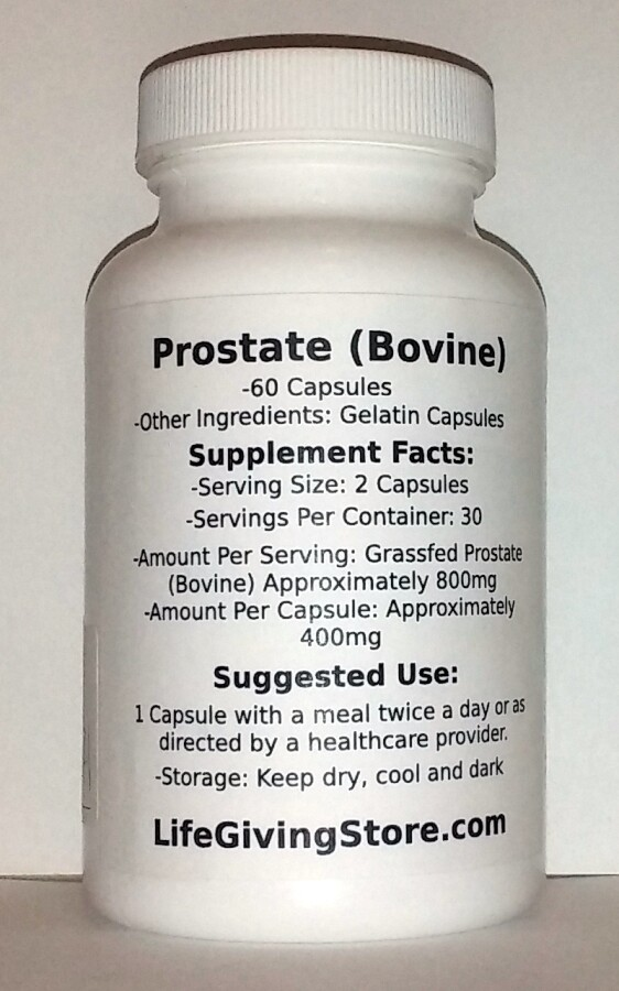 Prostate (Beef)