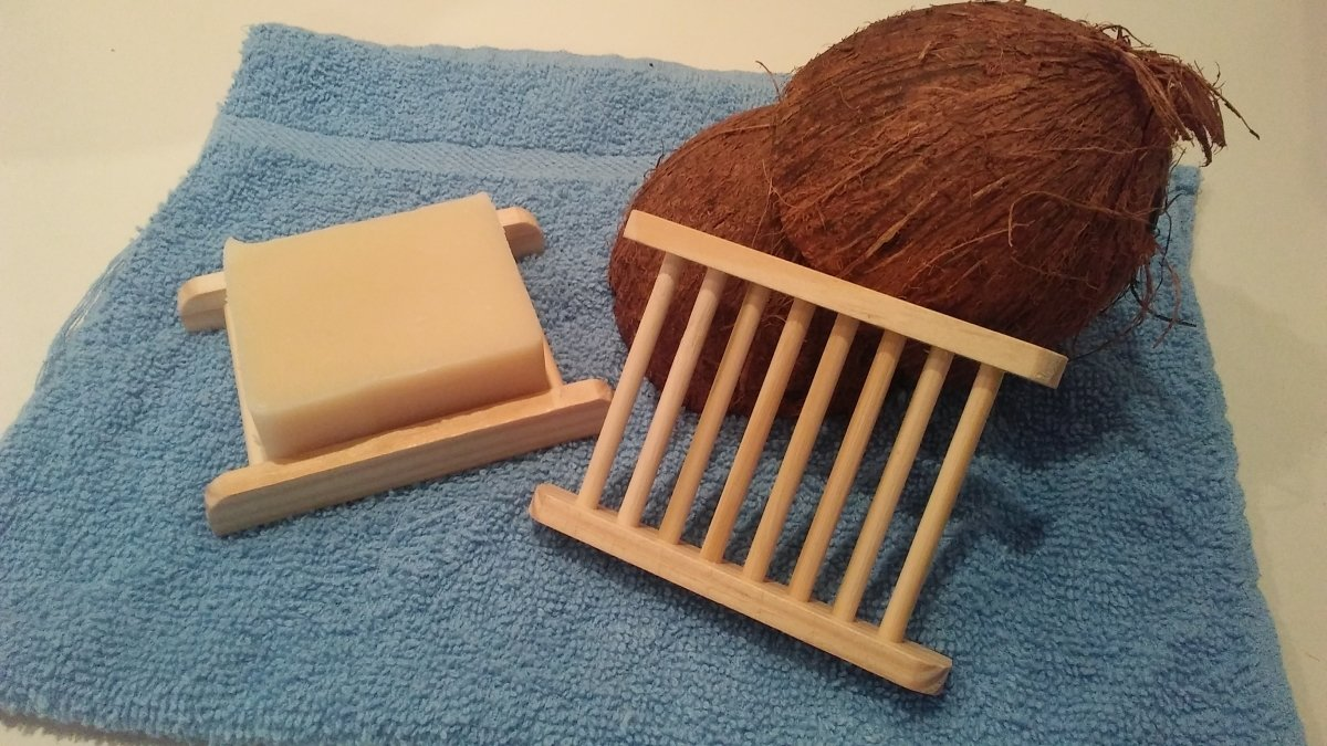 Wood Soap Holder 00021