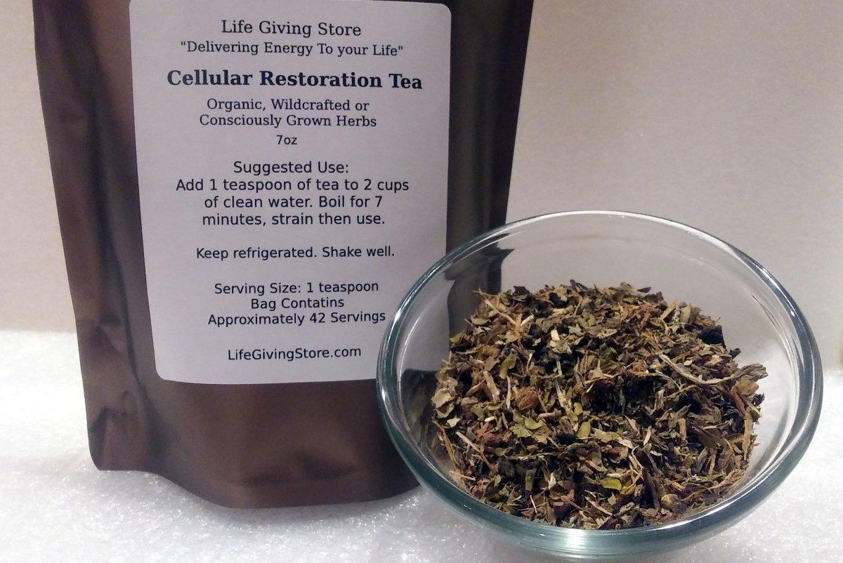 Cellular Restoration Tea 00032