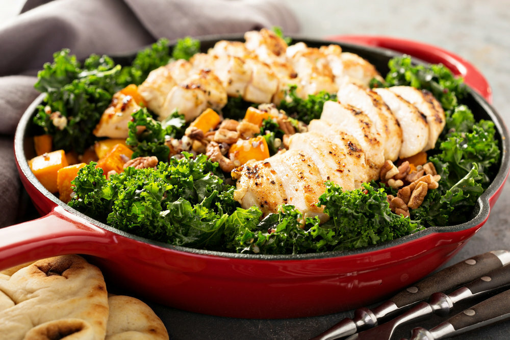 Kale Salad with Chicken 00032