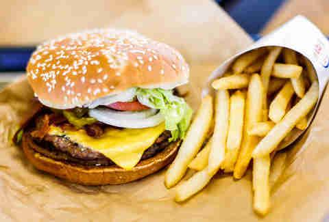 Beef Burger 00049