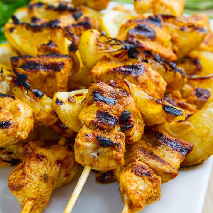 Chicken Kebabs Skewer 00105