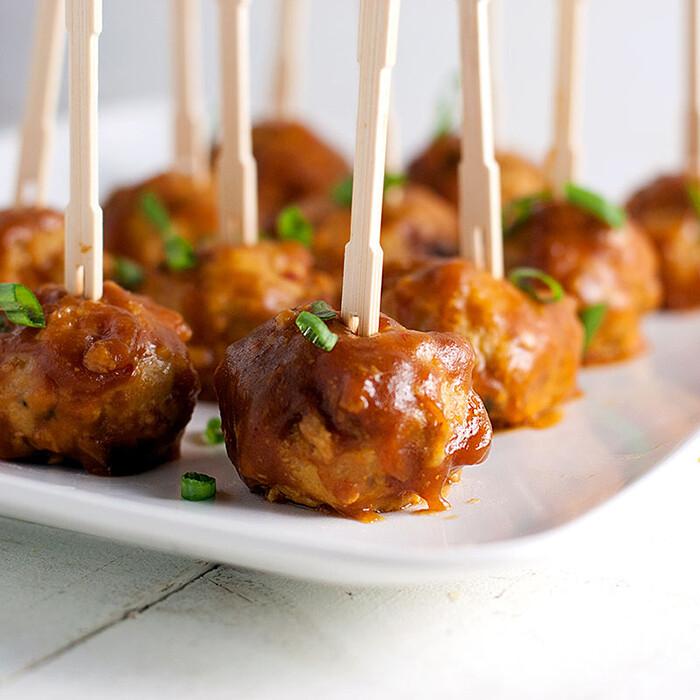 Spiced Lamb Meatballs