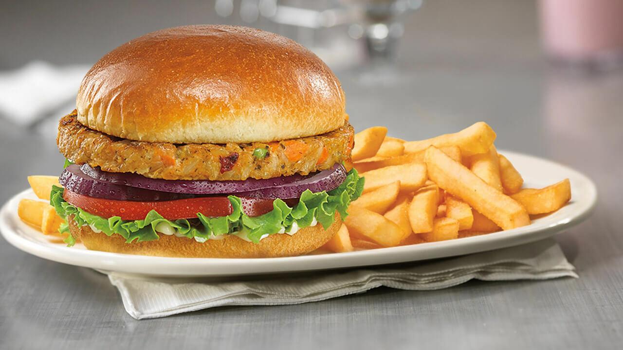 Vegan/Veggie Burger 00051