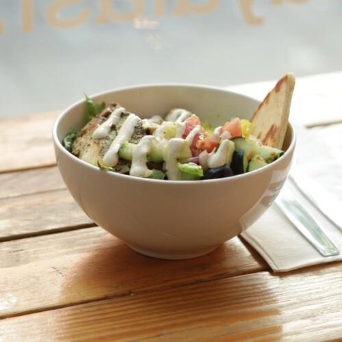 Shawafel (Chicken + Falafel) Bowl