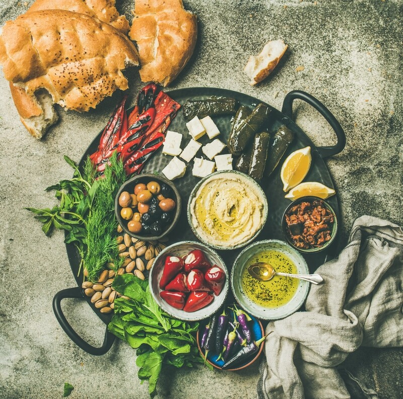 Build Your Own Mediterranean Bowl