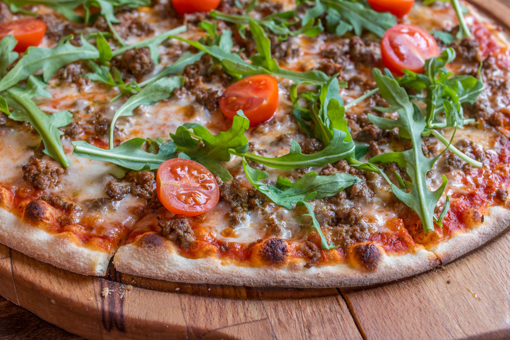 Beef Pizza