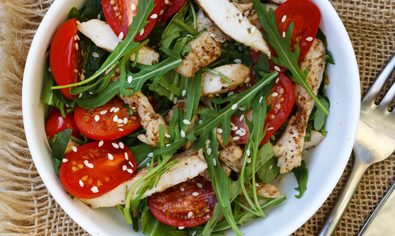 Arugula Salad With Chicken 31