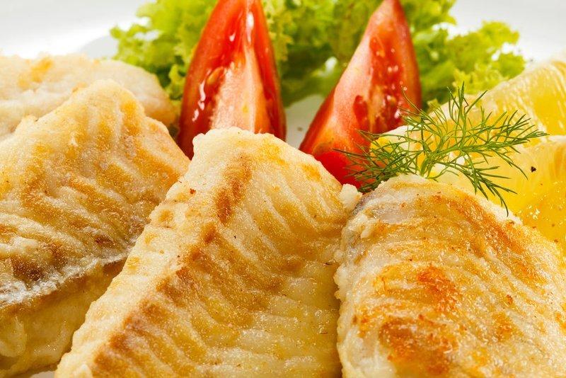 Fried Sea Bass