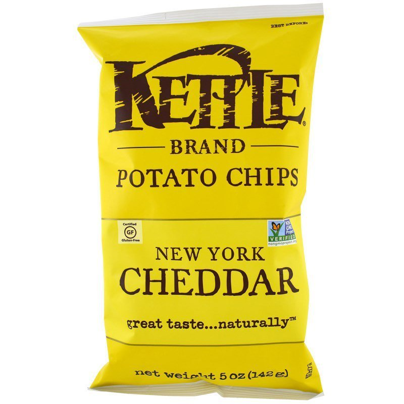 Kettle Chips - Cheddar