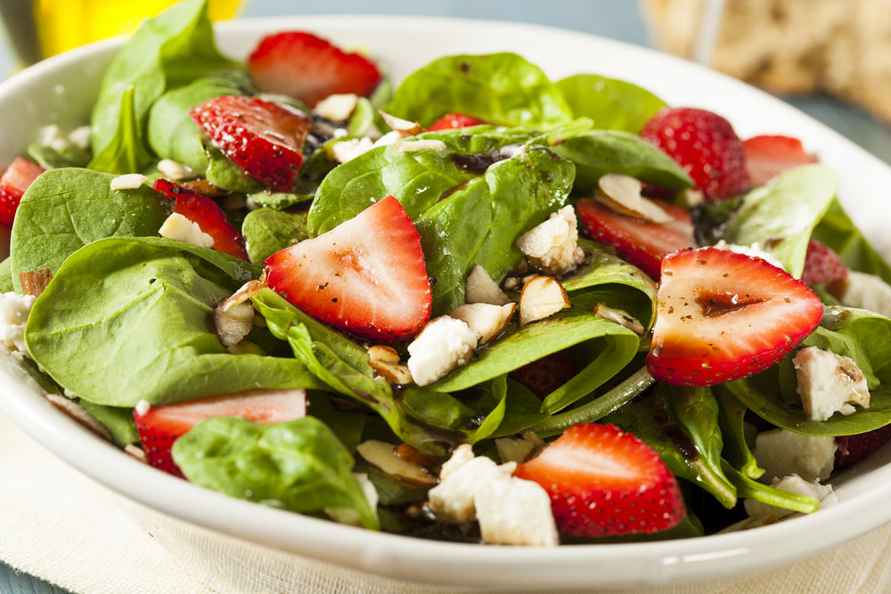 Spinach & Strawberries Salad 1931