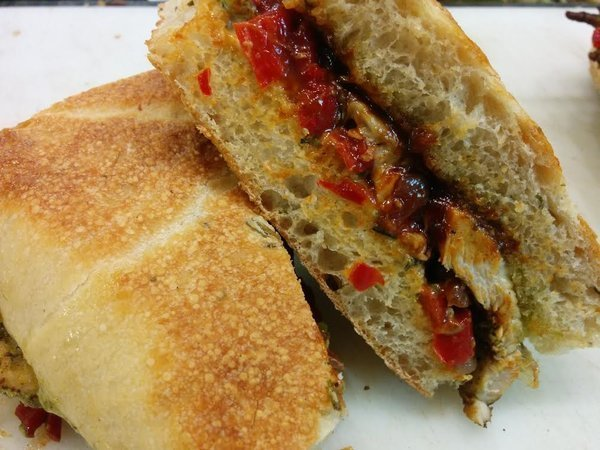 BBQ Chicken Sandwich 161