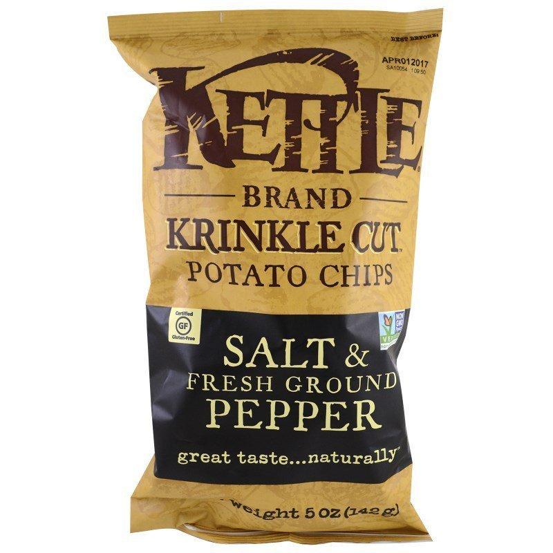 Kettle Chips - Salt & Pepper