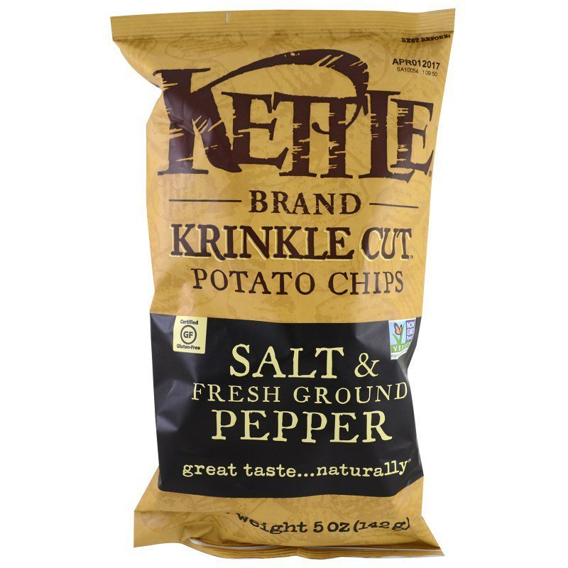 Kettle Chips - Salt & Pepper