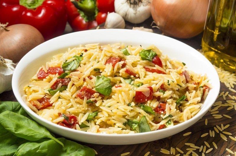 Sun-dried Tomato Basil Orzo Pasta