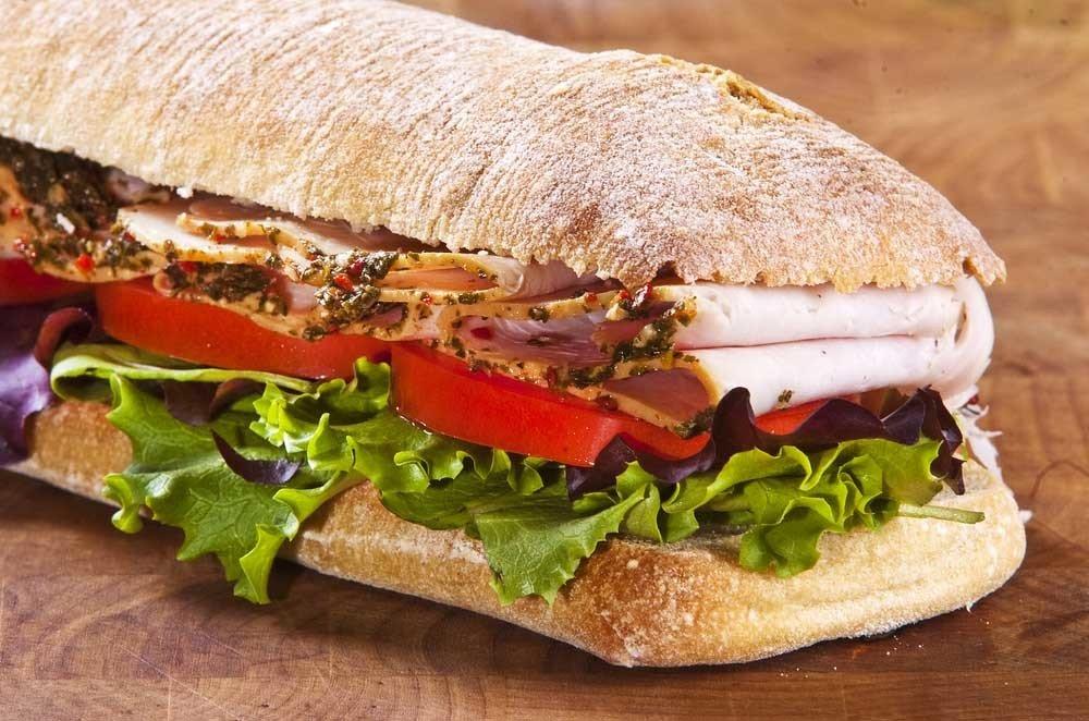 Smoked Turkey Sandwich 1841