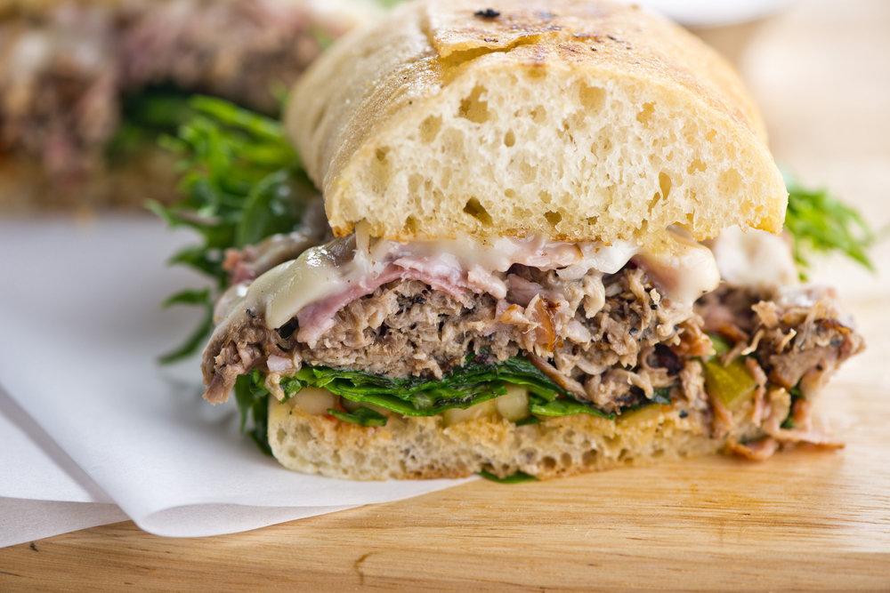 Pastrami & Cheese Sandwich 1501