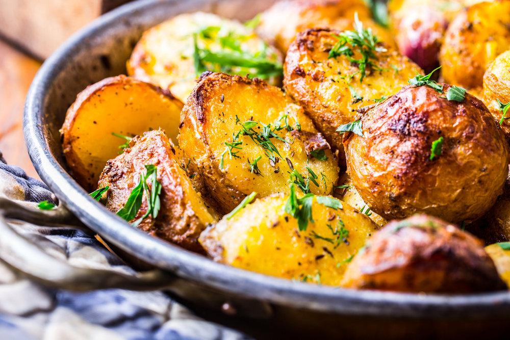 Roasted Garlic Potatoes 1631