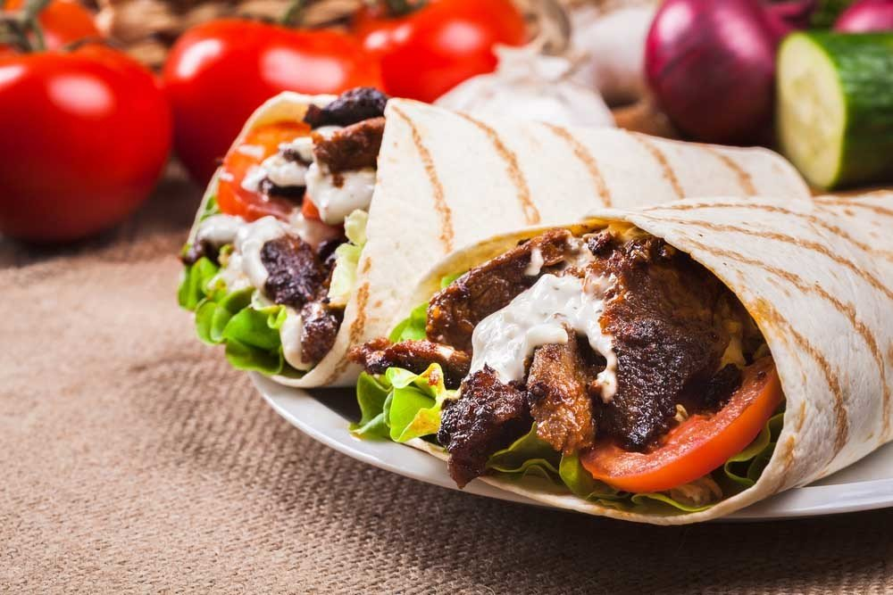 Steak Et Fromage Wrap